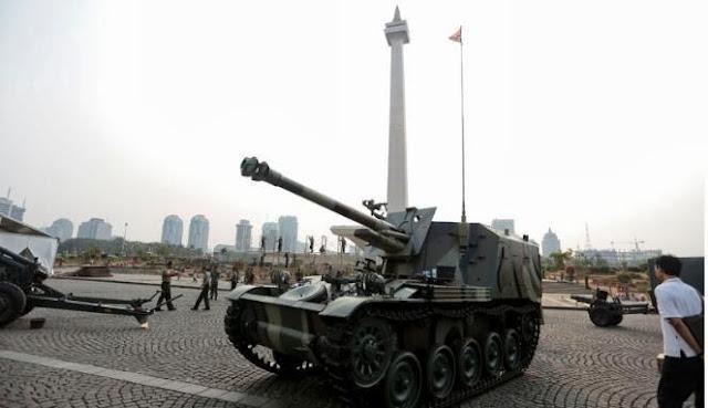 Daftar Alutsista TNI AD yang dipakerkan di Monas