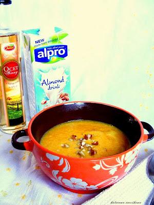 Zupa krem kukurydziano-marchewkowa