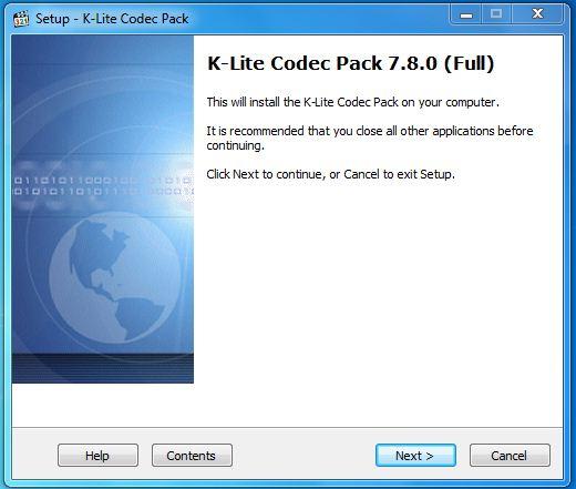 lite codec pack 8 0 0 download k lite codec pack screenshot