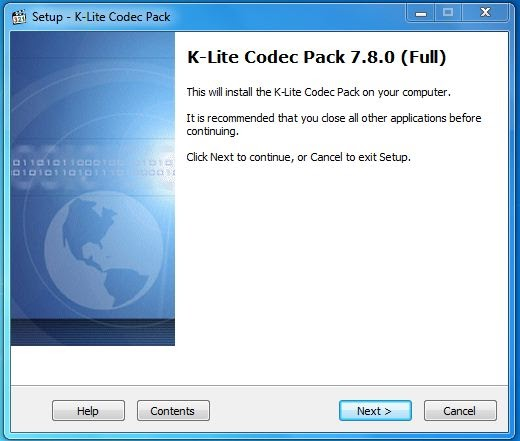 K-lite codec pack by k-lite software is about