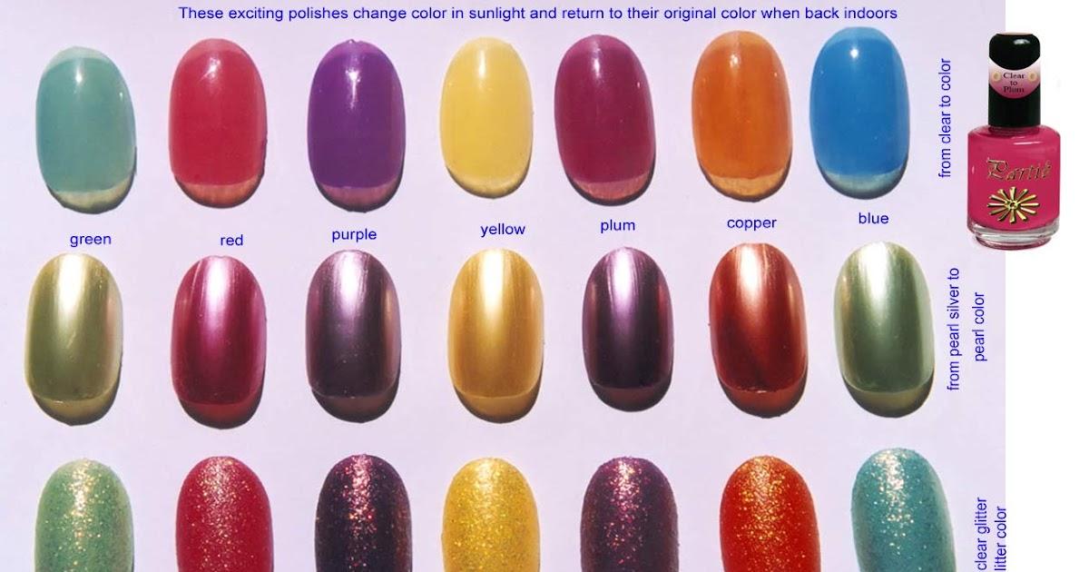 Nail Polish Colors For Your Skin Tone | Jenny\'s Nail Polish Blog