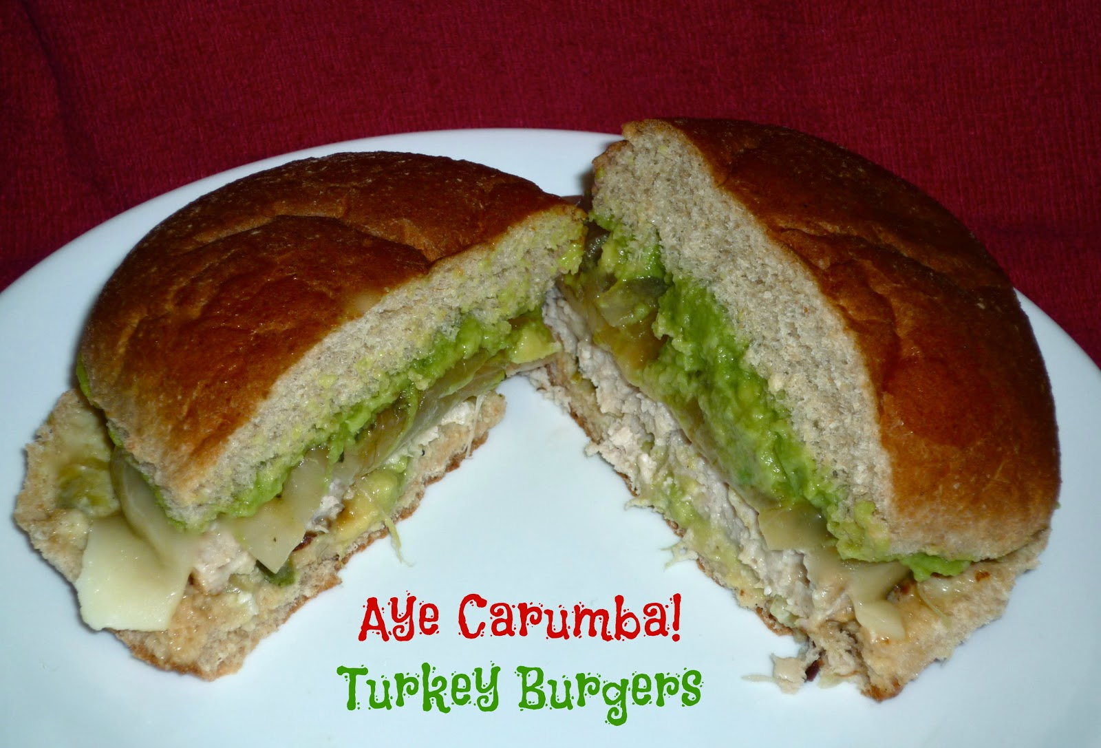 ... and Jennie-O Prize Pack...Featuring Aye Carumba! Turkey Burgers