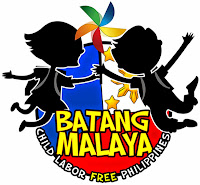Batang Malaya Child Labor Free Philippines Logo.