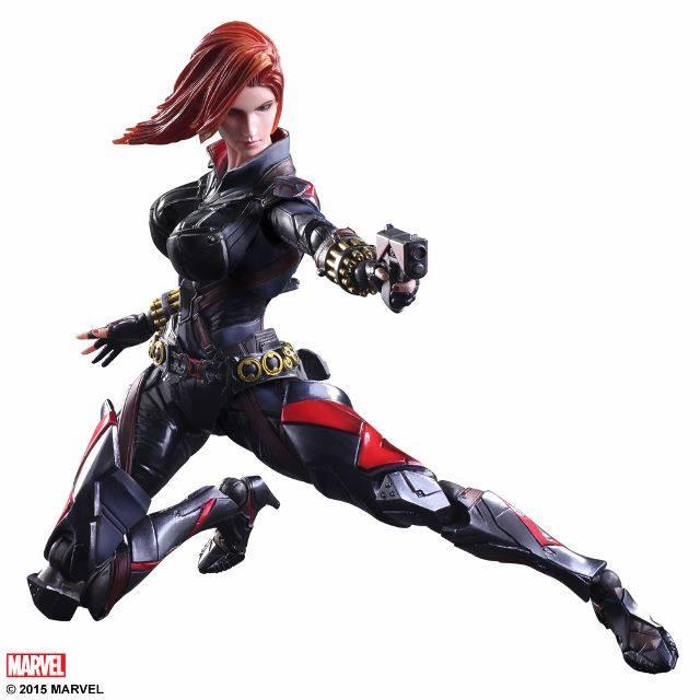 Square Enix Play Arts Kai Black Widow Variant Marvel Series