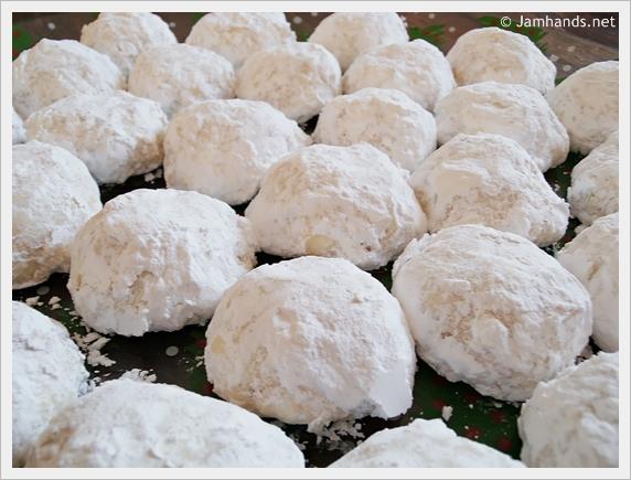 Snowball Cookies Recipe — Dishmaps