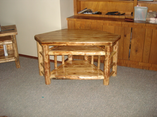 Twisted Pine Log Furniture