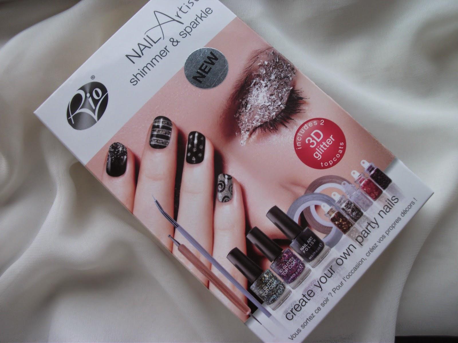 Rio Nail Artist Shimmer & Sparkle