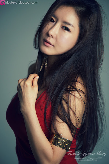5 Han Seo Young - Hot Rede-very cute asian girl-girlcute4u.blogspot.com