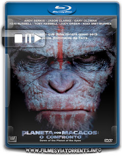 Planeta dos Macacos: O Confronto Torrent - BluRay Rip 720p Dual Áudio 5.1