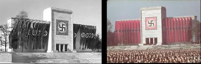Нирнбершки митинг (званично Reichsparteitag) је био годишњи митинг Националсоцијалистичке њемачке радничке партије који је одржаван у периоду између 1923. и 1938. године. Нарочито након доласка на власт Адолфа Хитлера 1933, ови митинзи су се претворили у важне нацистичке пропагандне догађаје. Пошто су митинзи између 1933. и 1938. године редовно одржавани у Нирнбергу, познати су као Нирнбершки митинзи.  На митинзима су приказивани и пропагандни филмови, тако су на митинзима 1933, 1934, и 1935. приказани филмови Лени Рифенштал: Победа вере (нем. Der Sieg des Glaubens), Тријумф воље (нем. Triumph des Willens)[1] и филм о Вермахту под насловом Tag der Freiheit: Unsere Wehrmacht.