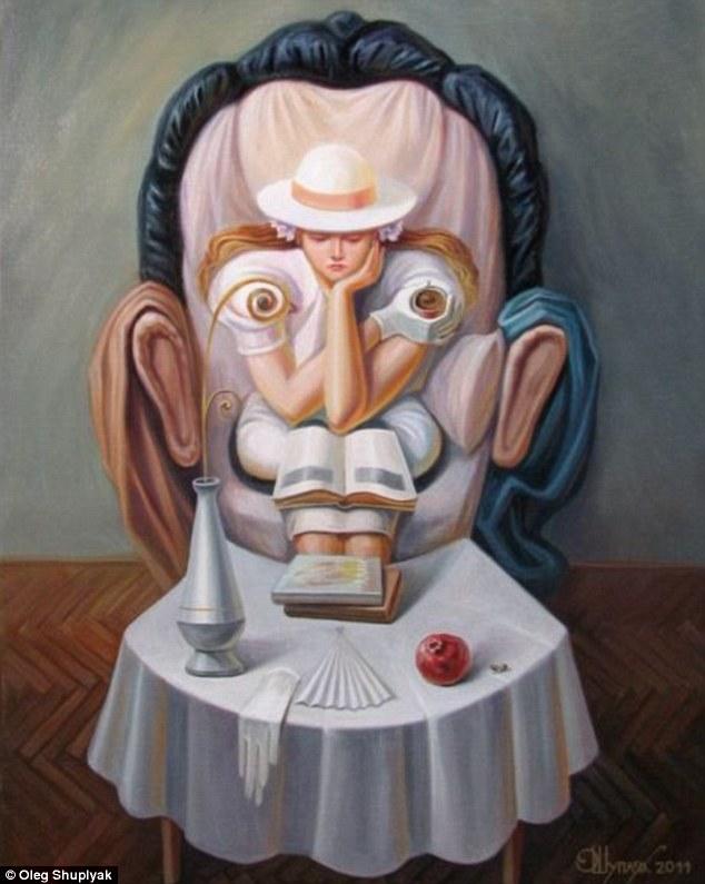 Pinturas com efeitos visuais de Oleg Shuplyak