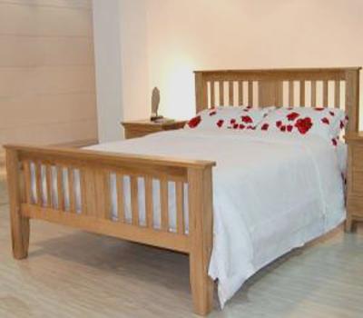 Giường gỗ Edmonton Queen Size 1.6