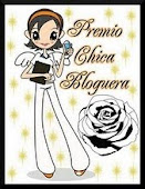 "Premio ""Chica Bloguera"""
