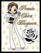"""Premio """"Chica Bloguera"""""""