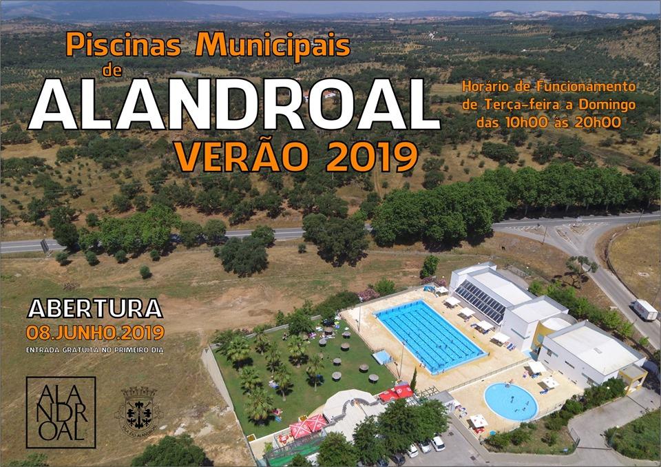 ABERTURA DAS PISCINAS MUNICIPAIS DE ALANDROAL - DIA 08 DE JUNHO DE 2019.