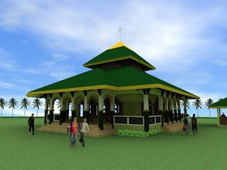 Contoh Desain Masjid Minimalis Modern Saat Ini