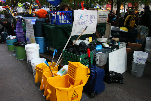 Occupy Wall Street sanitation department