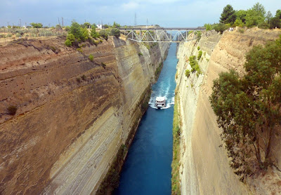 Canal de Corinto – Grécia