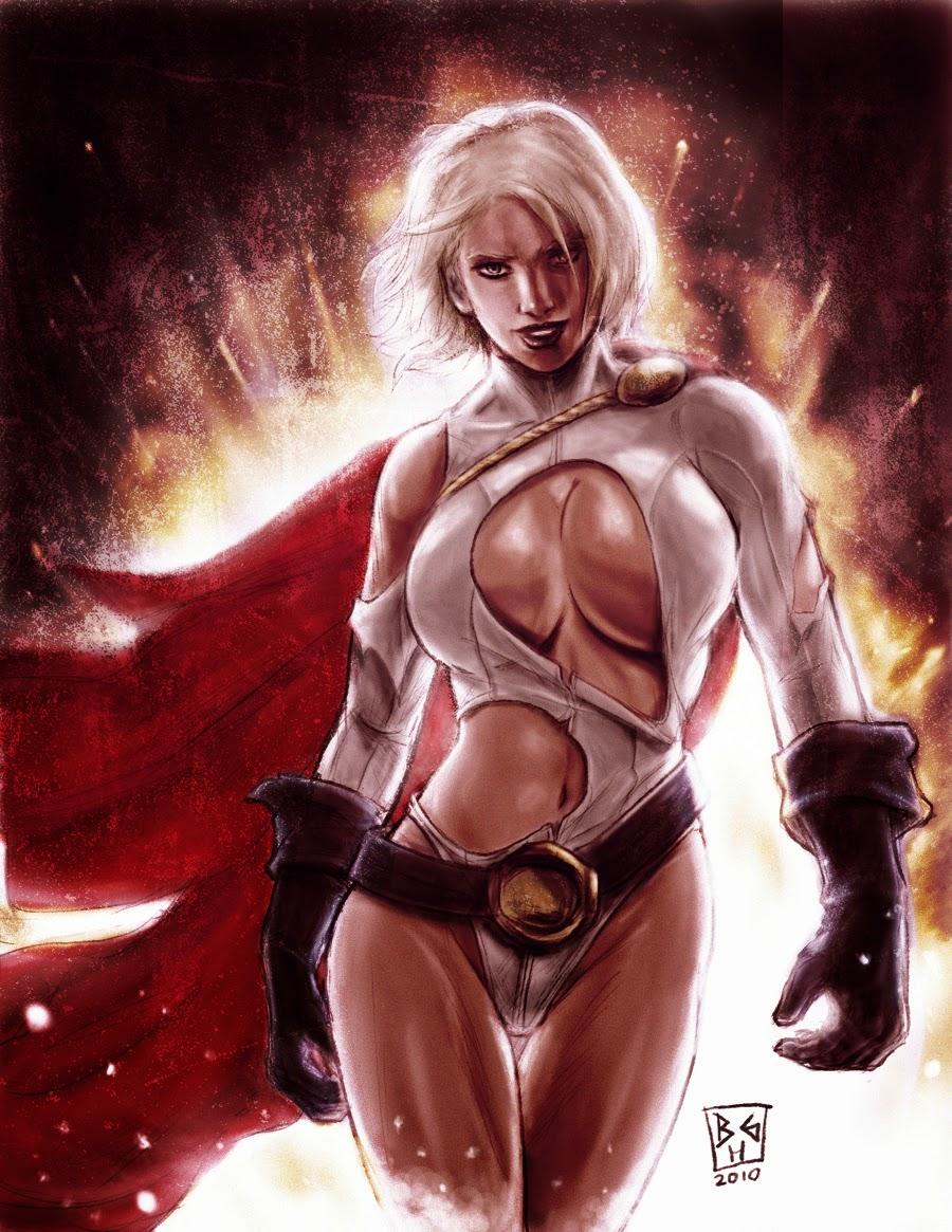 power girl wallpaper hd