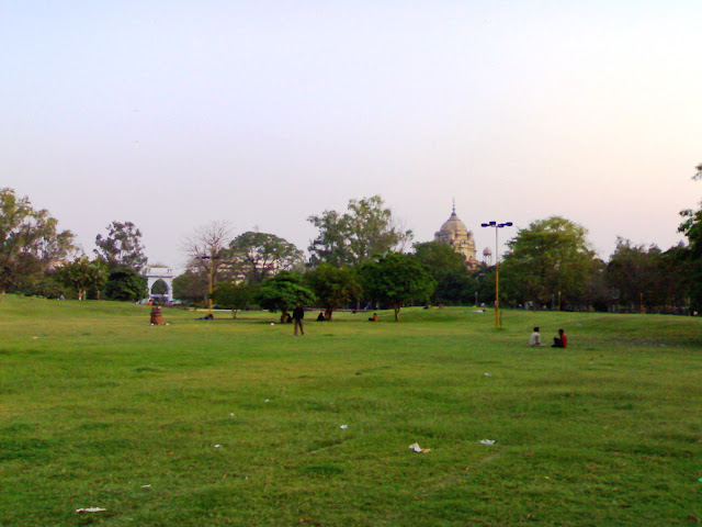 Begum Hazrat Mahal Park in Lucknow, India