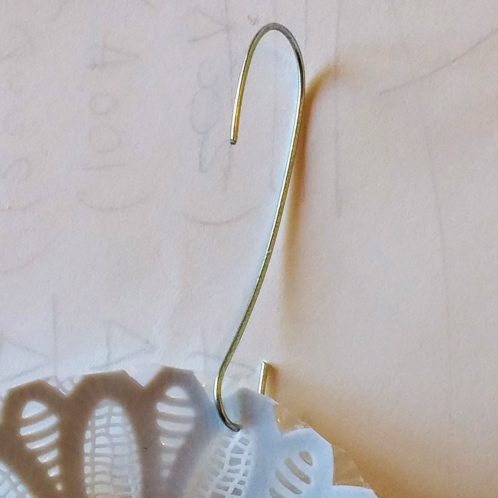 Plastic ornament hangers - Add An Ornament Hanger Just Poke It Right Into Plastic