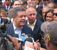 GAMALIER MONTAS CALIFICA DE POSITIVA VISITA DEL PRESIDENTE LEONEL FERNANDEZ
