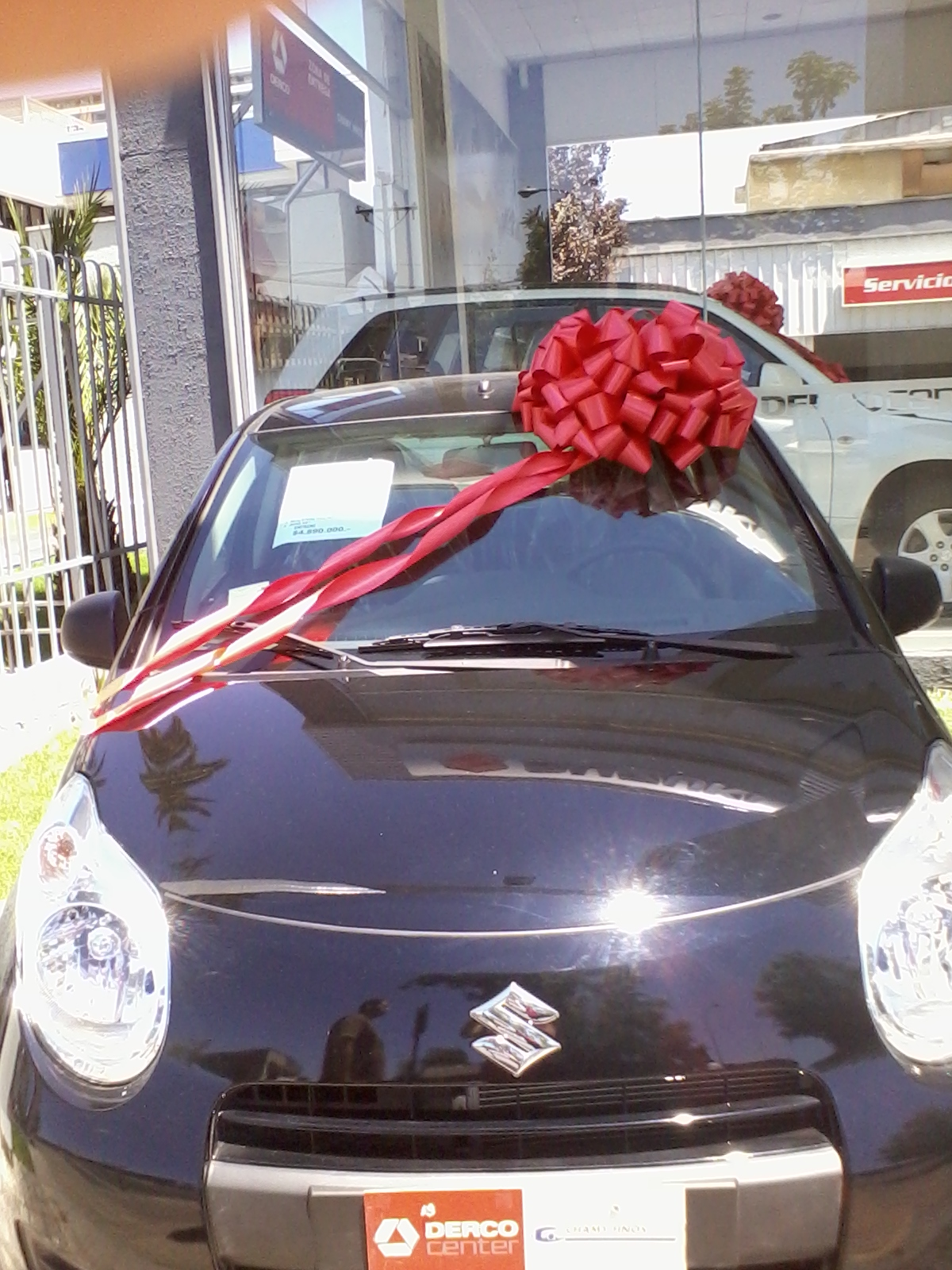Cintas decorativas mo os decorativos para autos de regalo - Lazos grandes para decorar ...