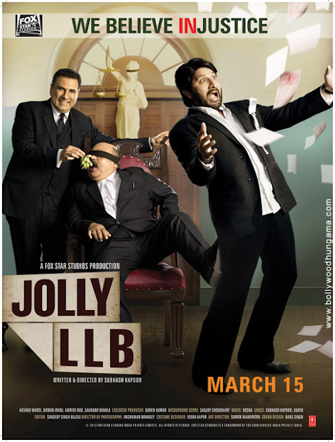Jolly L.L.B Exclusive First Look Wallpaper