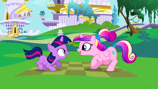 My Little Pony Cadence and Twilight