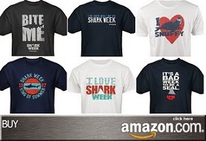 Shark Week Tees at Discovery's Amazon Store