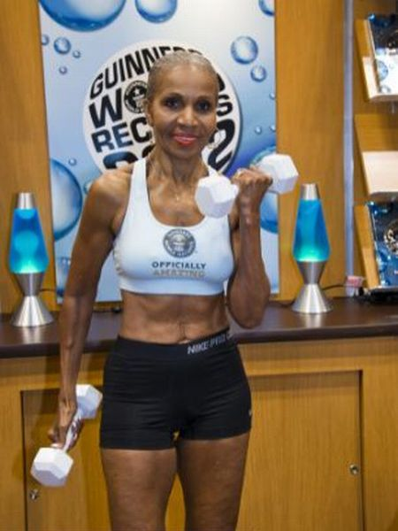 oldest+female+bodybuilder+in+history5 Oldest female bodybuilder in history (10 pics + video)