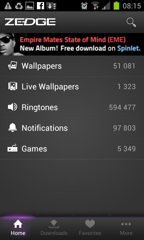 my samsung galaxy s2 free ringtones sms notifications