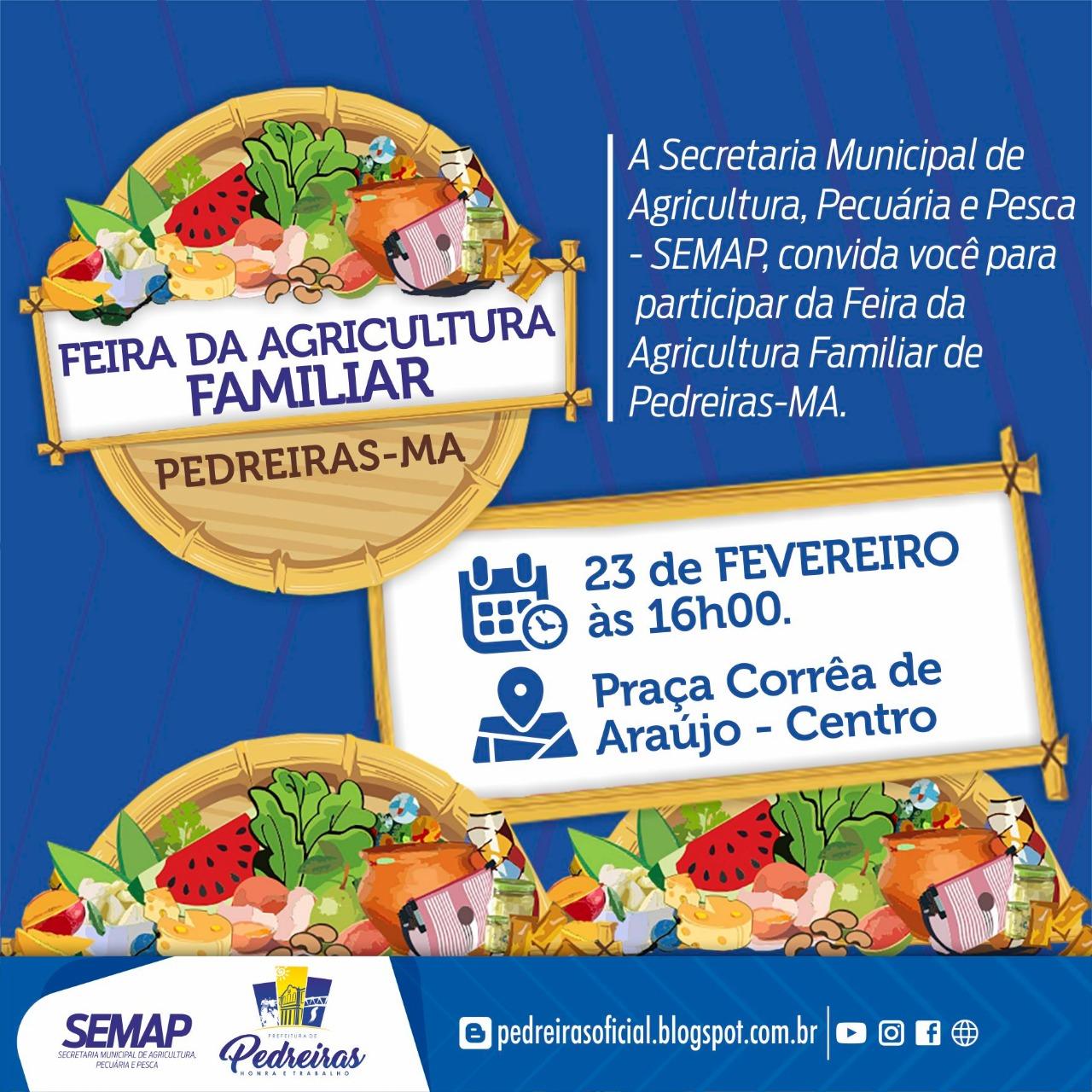 FEIRA DA AGRICULTURA FAMILIAR