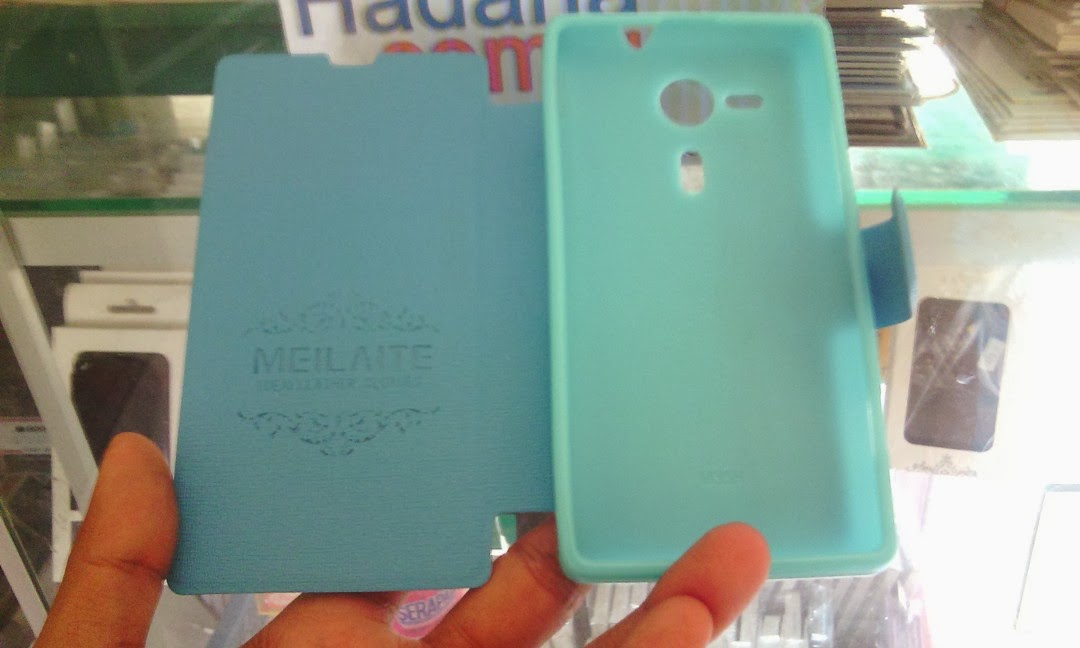 MLT Leather Case Wallet with Stand Sony Xperia SP - Baby Blue