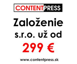 založenie s.r.o. - contentpress.sk