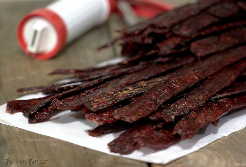 The Hen Basket: Homemade Beef Jerky