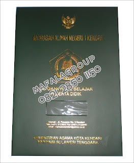 Map Ijazah / Sampul Raport Kendari