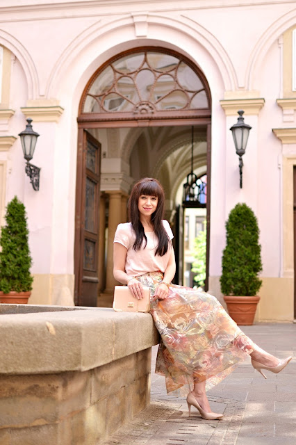 SUKŇA Z ORGANZY_Katharine-fashion is beautiful_Sukňa_Organza_Katarína Jakubčová_Fashion blogger