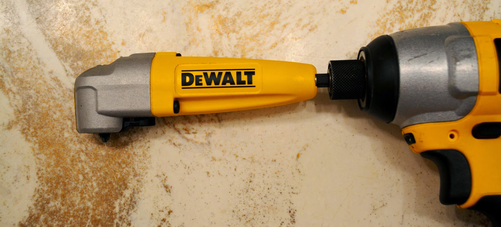 DeWalt Right Angle Adapter Attachment