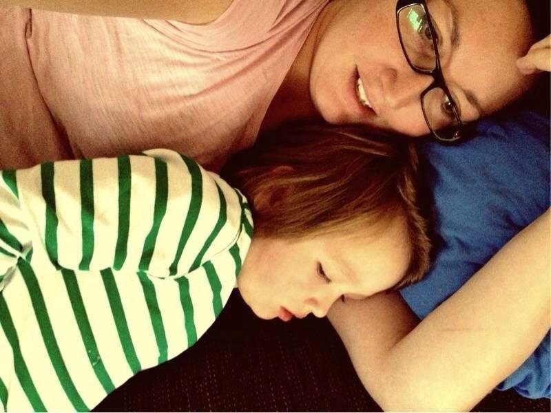 Mamma och Tristan
