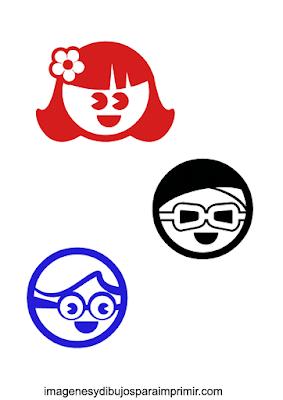 caricaturas de niños para preescolar