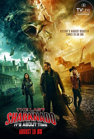 O Último Sharknado - Já Estava na Hora BluRay Legendado Filmes Torrent Download completo