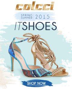 nova coleção de sapatos Colcci