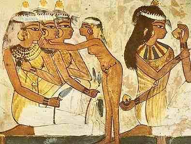 Mujeres egipcias
