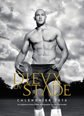 Dieux Du Stade 2013 calendar - Fashionably Male