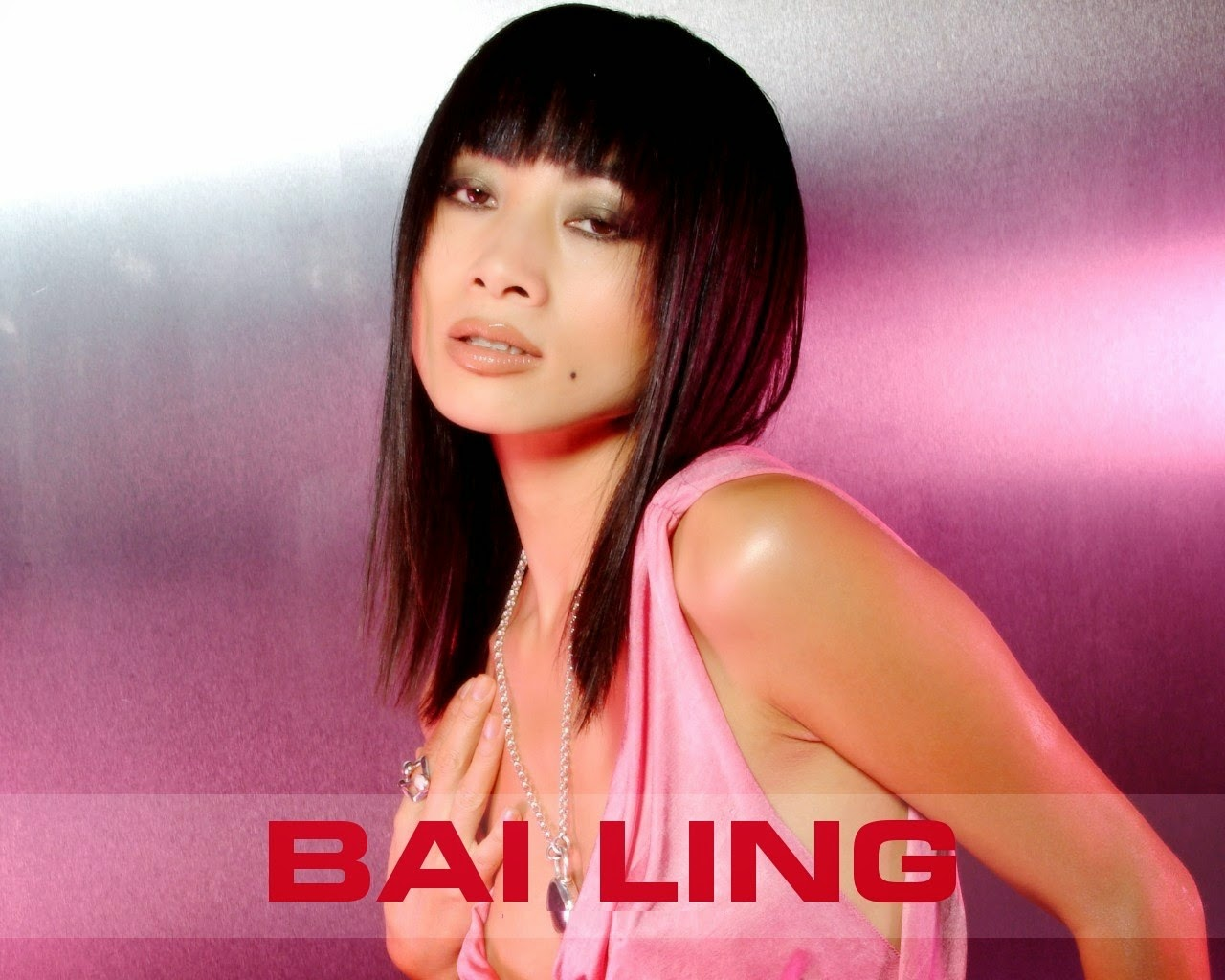 Beautiful Bai Ling HD Wallpaper