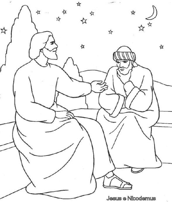 GALERIA ARTE: Dibujos para colorear de Jesús