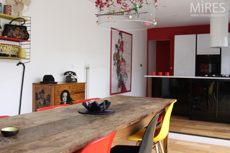 Decoraci n de interiores vintage con mucho color casas decoracion - Decoracion interiores vintage ...