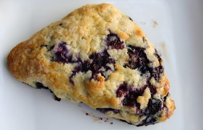 America's Test Kitchen Blueberry Scone