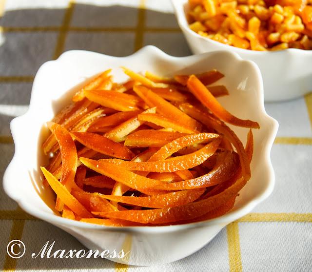 Апельсиновые цукаты от Уильяма Кёрли